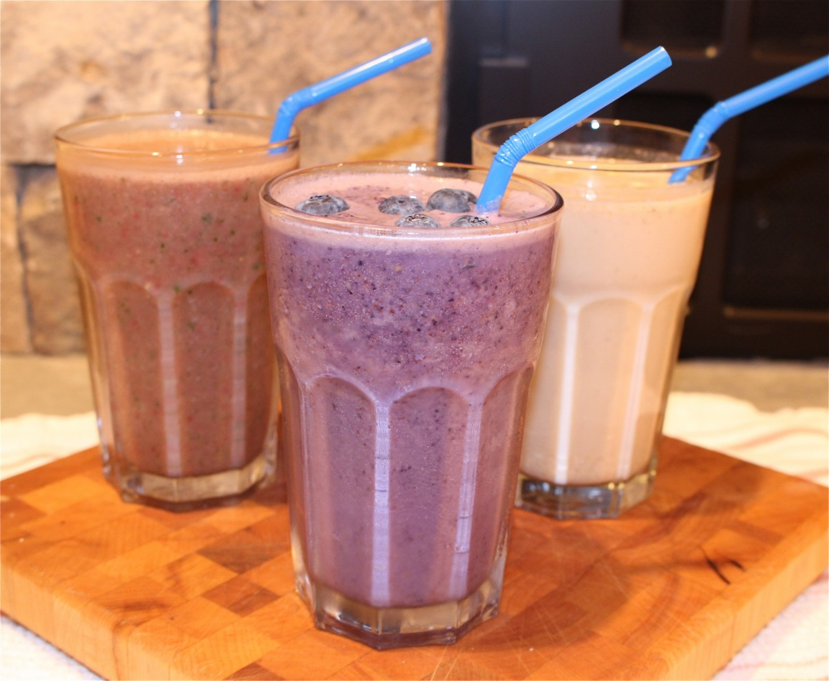 Three Smoothies for Spring