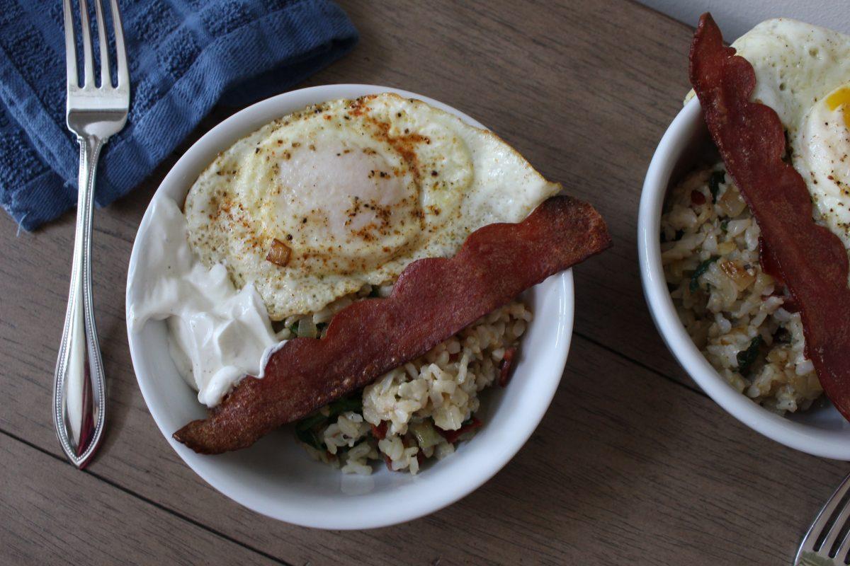 Eggy Rice Bowl
