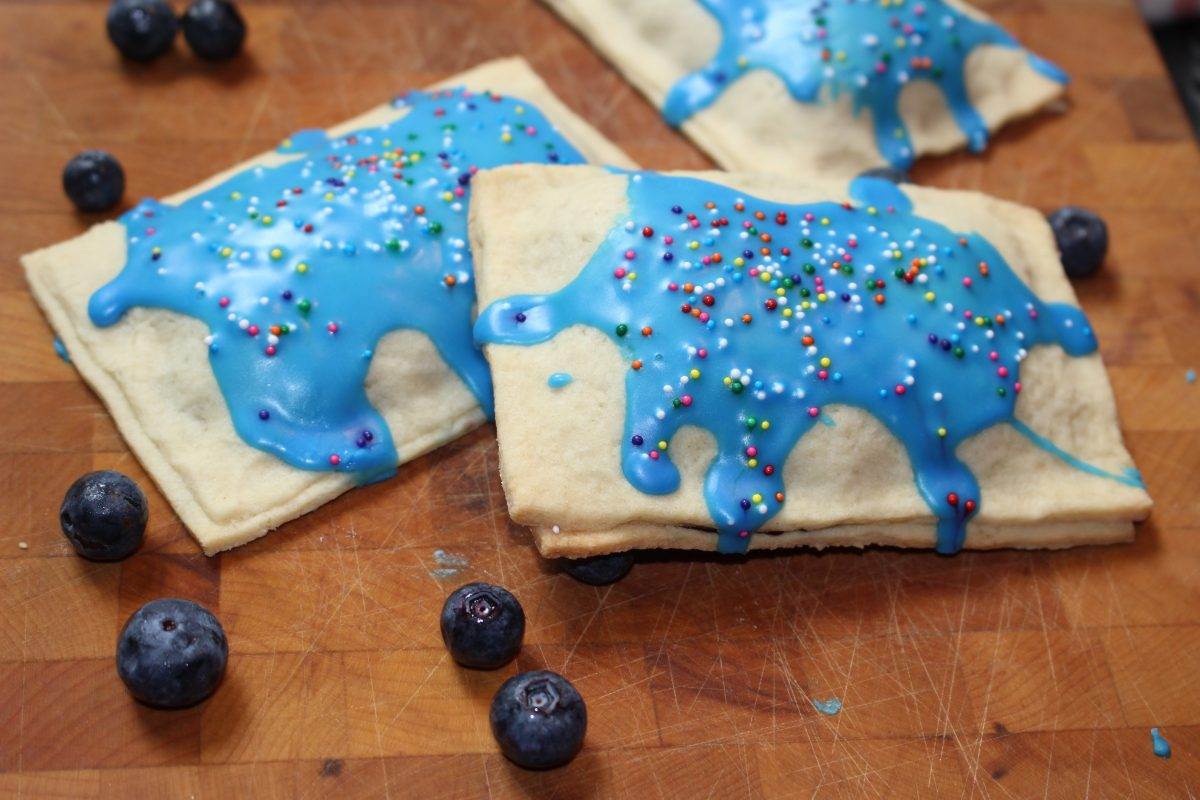 Blueberry Lemon Pop Tarts